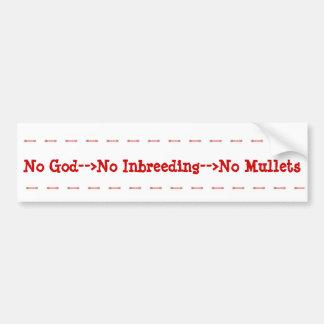 Atheism Benefits Bumper Sticker