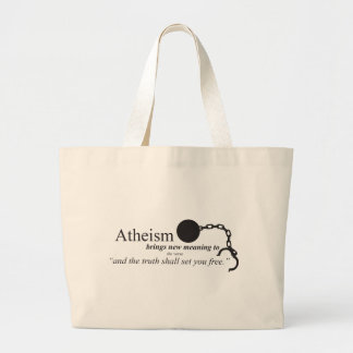 Atheism brings new meaning tote bags