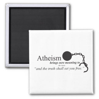 Atheism brings new meaning refrigerator magnets