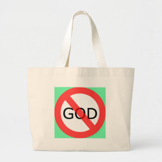 atheism canvas bags