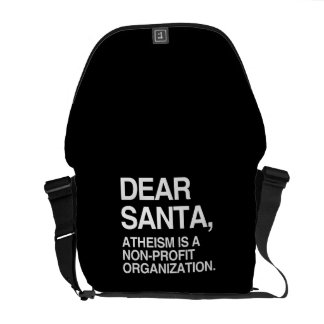 ATHEISM IS A NON-PROFIT ORGANIZATION MESSENGER BAGS