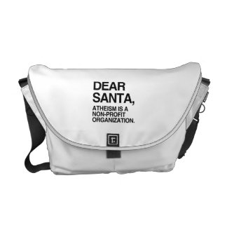 ATHEISM IS A NON-PROFIT ORGANIZATION -.png Messenger Bags