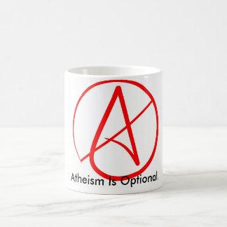 Atheism is Optional - Parody/sarcasm mug