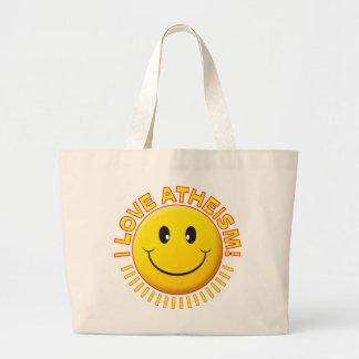 Atheism Love Smile Bag