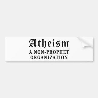 Atheism Non-Prophet Bumper Sticker