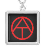 Atheism 'Official' Symbol Necklace
