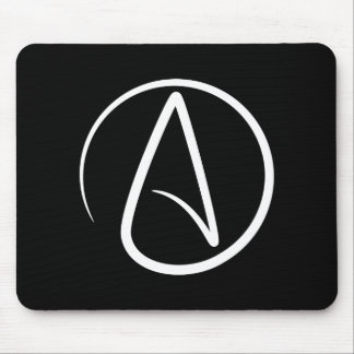 Atheism Pictogram Mousepad