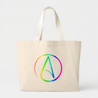 Atheism Symbol #2 Jumbo Tote Bag