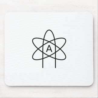 Atheism Symbol #3 Mouse Pad