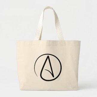 Atheism Symbol Tote Bags