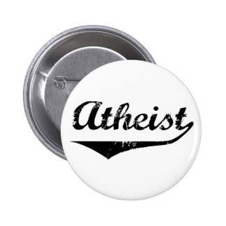 Atheist 2 6 cm round badge