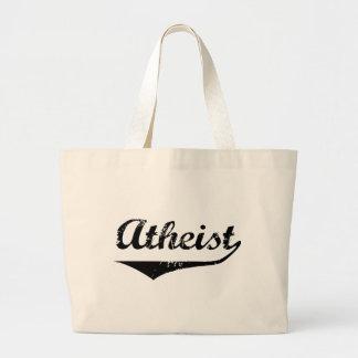 Atheist 2 jumbo tote bag