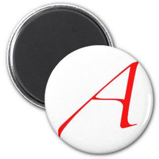"""Atheist """"A""""  logo Magnet"""