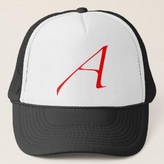 """Atheist """"A""""  logo Trucker Hat"""