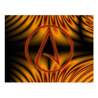 Atheist A Postcard