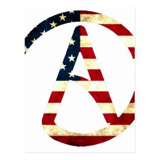Atheist America Postcard