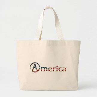 Atheist American Jumbo Tote Bag