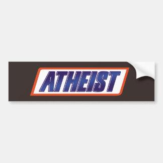Atheist Atheism Parody Bumper Sticker
