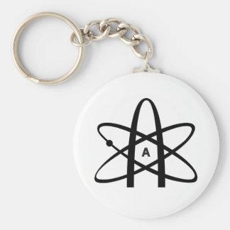 Atheist Atom Key Ring