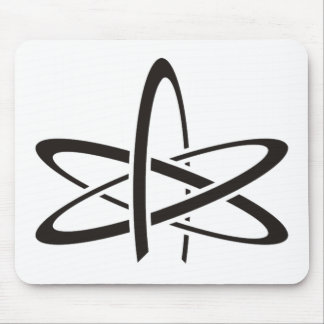 Atheist Atom Mouse Pad