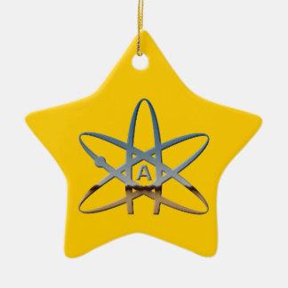 Atheist Atom Star Ornament