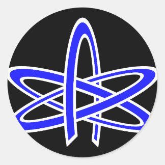 Atheist Atom Sticker