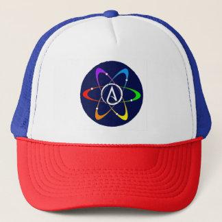 Atheist Atom Symbol Trucker Hat