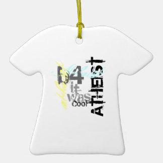 Atheist: b4 it was cool ceramic T-Shirt decoration