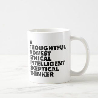 Atheist! Basic White Mug