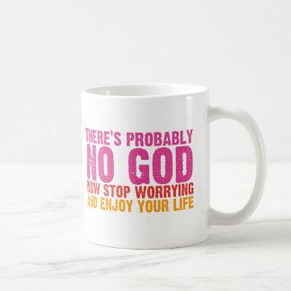 Atheist Bus Campaign (Vertical) Coffee Mug
