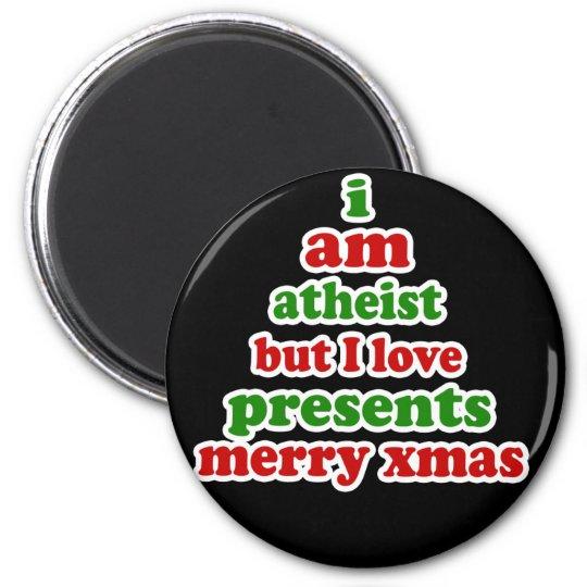Atheist Christmas 6 Cm Round Magnet