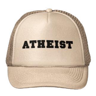 Atheist Collegiate Logo Hats