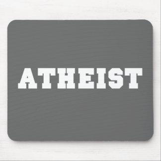 Atheist Collegiate Logo Mouse Pad