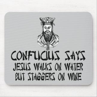 Atheist Confucius Mousepads