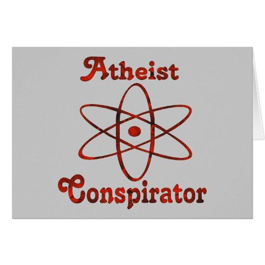 Atheist Conspirator Card