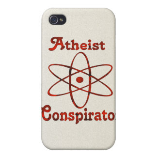 Atheist Conspirator Cover For iPhone 4
