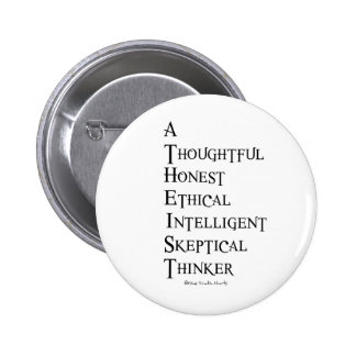 Atheist Defined Pinback Button