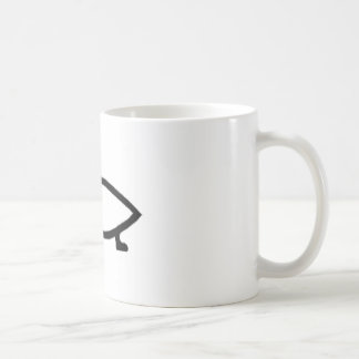 Atheist Evolution Fish Coffee Mug