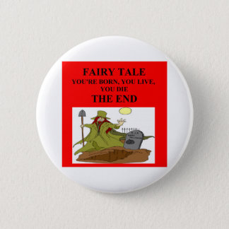 atheist fairy tale 6 cm round badge