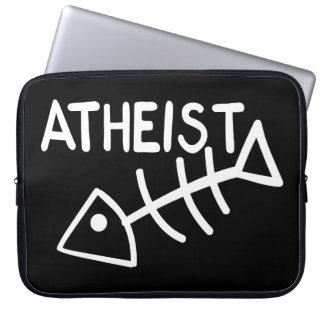 Atheist Fish Computer Sleeve