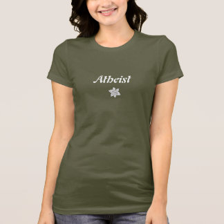 Atheist flower power T-Shirt