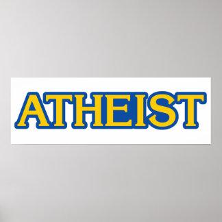 Atheist Gamer Poster