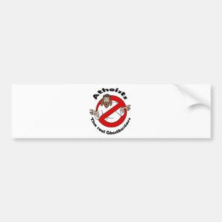 Atheist Ghostbusters Bumper Sticker