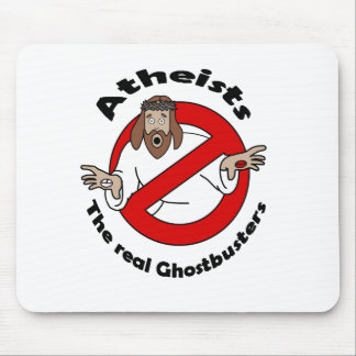 Atheist Ghostbusters Mouse Pad