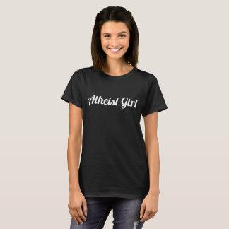 Atheist Girl Branded Women's Black T-Shirt