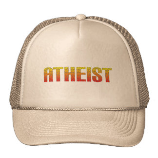Atheist, hell wire fence style. hats