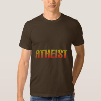 Atheist, hell wire fence style. t-shirts