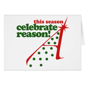 Atheist Holiday Season Note Card