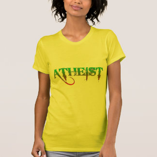 Atheist ID goth style green/red T Shirt