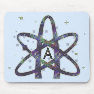 Atheist in Outer Space Mousepad